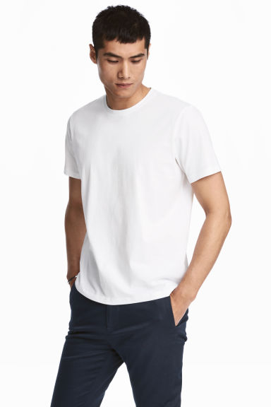 Premium cotton T-shirt Model