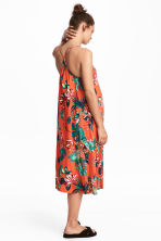 MAMA Long dress - Orange/Patterned - Ladies | H&M CN 1