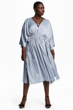 H&M+ Kaftan dress - Light blue-grey - Ladies | H&M 1