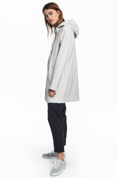 Rain coat - Light grey - Ladies | H&M 1
