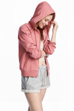 Hooded jacket - Coral pink - Ladies | H&M CA 1
