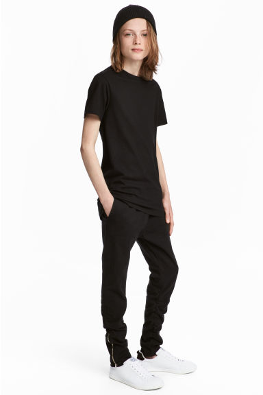 Pull-on trousers - Black - Kids | H&M 1