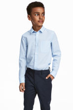 Easy-iron shirt - Light blue - Kids | H&M 1