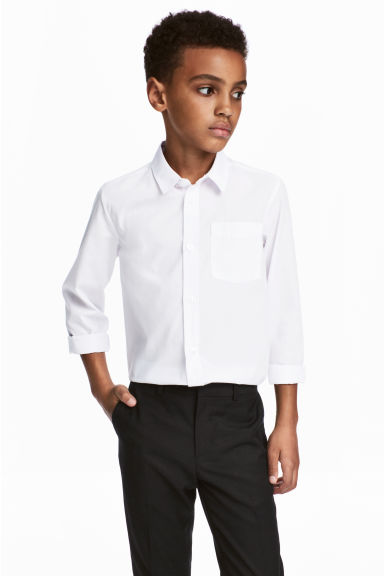 Easy-iron shirt  - White -  | H&M 1