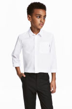 Easy-iron shirt - White -  | H&M CA 1