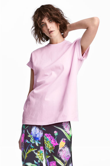 Jersey top - Light pink -  | H&M CN 1