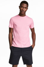 Cotton T-shirt Regular fit - Pink - Men | H&M CN 1