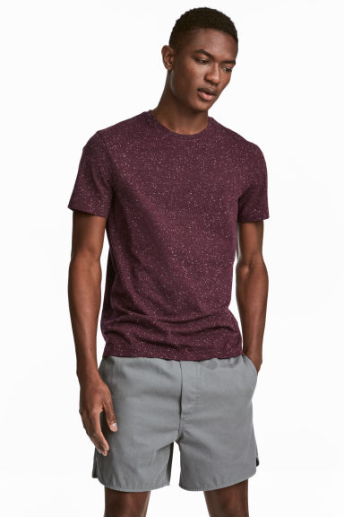 Tricou rotund la gât Slim fit Model