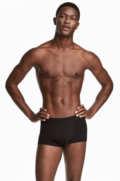 7-pack trunks - Black - Men | H&M GB 1