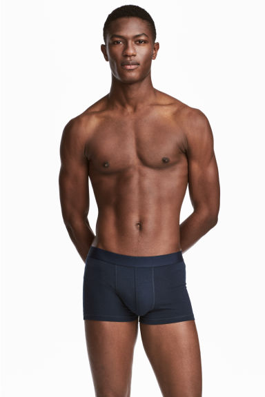 3-pack trunks - Mörkblå - Men | H&M FI 1
