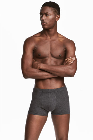 3-pack boxer shorts - Black/Grey - Men | H&M 1