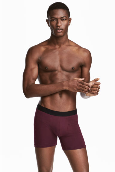 3-pack boxers - Burgundy - Men | H&M 1