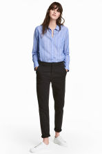 Cotton chinos - Black - Ladies | H&M CN 1