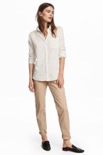 Cotton chinos - Beige - Ladies | H&M CN 1
