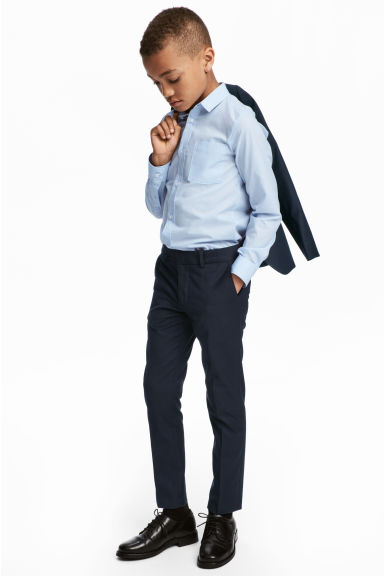 Suit trousers - Dark blue - Kids | H&M CN 1