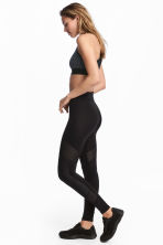 Sports tights - Black - Ladies | H&M CN 1