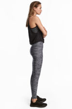 Sports tights - Grey marl - Ladies | H&M CA 1