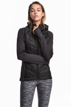 Padded outdoor jacket - Black - Ladies | H&M CN 1