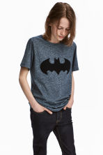 T-shirt with a motif - Blue/Batman - Kids | H&M 1