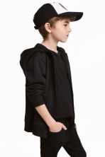 Hooded jacket - Black - Kids | H&M CA 1
