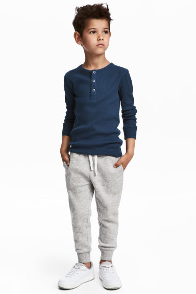 慢跑褲 - Grey marl - Kids | H&M 1