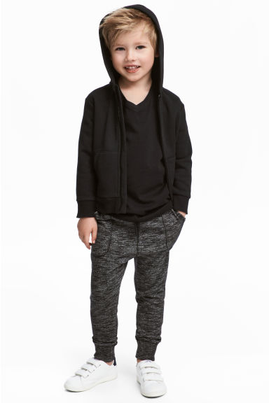 慢跑褲 - Black marl - Kids | H&M 1