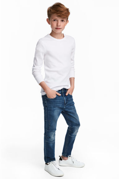 Super Soft Skinny fit jeans - Denim blue - Kids | H&M