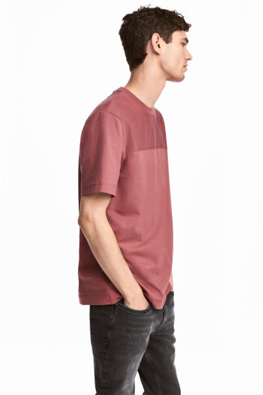 T-shirt - Pale red - Men | H&M 1