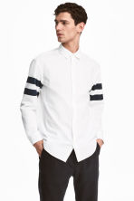 Cotton shirt Regular fit - White - Men | H&M 1