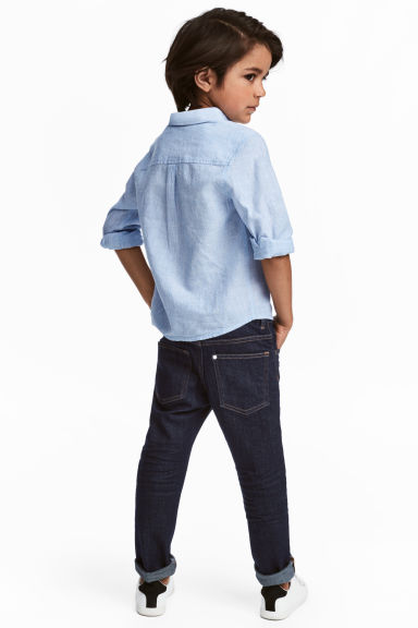 Slim Fit Jeans - Azul denim oscuro -  | H&M ES 1