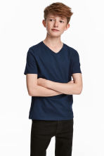 2-pack T-shirts - Dark blue - Kids | H&M CA 1