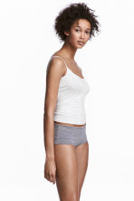 Shortie, 3 pz - Grigio scuro/righe - DONNA | H&M IT 1