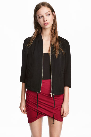 Draped skirt - Red -  | H&M IE