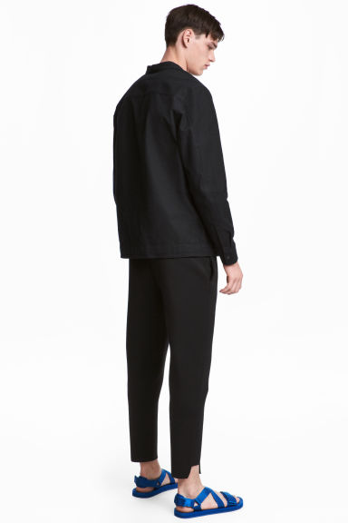 Joggers in scuba fabric - Black - Men | H&M