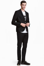 Kostymbyxa Slim fit - Svart - Men | H&M FI 1