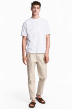 Chino Relaxed fit - Beige clair - HOMME | H&M FR 1