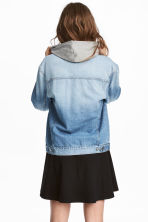 Denim jacket - Light denim blue - Ladies | H&M GB 1