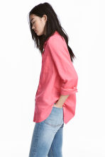 Cotton shirt - Pink - Ladies | H&M 1