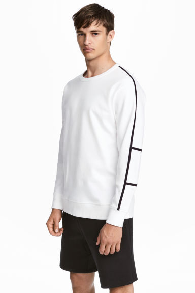 Sports top  - White - Men | H&M CN 1