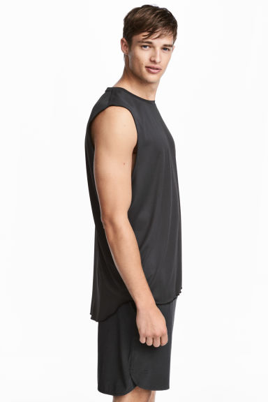 Sports top - Black - Men | H&M 1