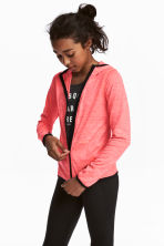 Sports jacket - Coral pink - Kids | H&M 1