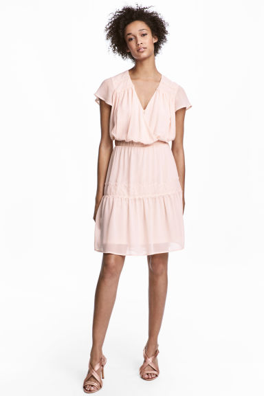MAMA Nursing Dress - Powder pink - Ladies | H&M CA