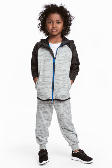 運動長褲 - Grey marl - Kids | H&M 1