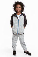 Sports trousers - Grey marl - Kids | H&M CN 1