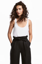 Vest top - White - Ladies | H&M 1
