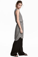 Jersey dress - Light beige/Pattern - Ladies | H&M CN 1