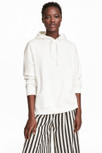 Hooded top - White - Ladies | H&M CA 1