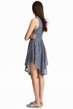 Lace dress - Pigeon blue - Ladies | H&M CN 1