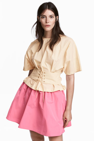 Flared skirt - Pink - Ladies | H&M IE