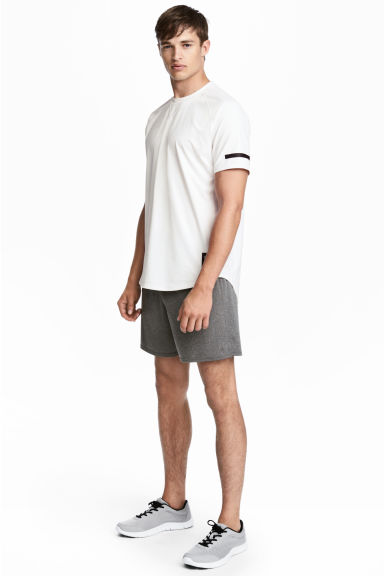 運動短褲 - Dark grey marl -  | H&M